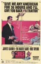 36 Hours 1965 DVD - James Garner / Eva Marie Saint